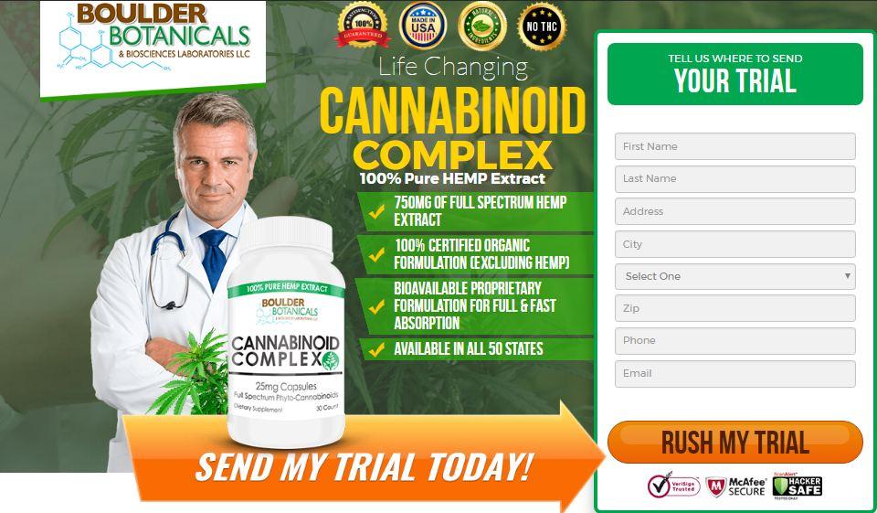 Cannabinoid Complex Trial