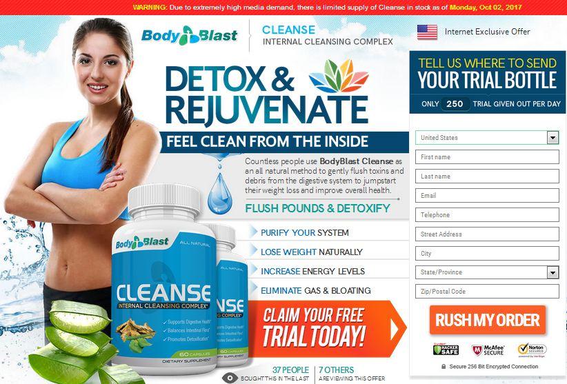 Detox Body Blast Trial