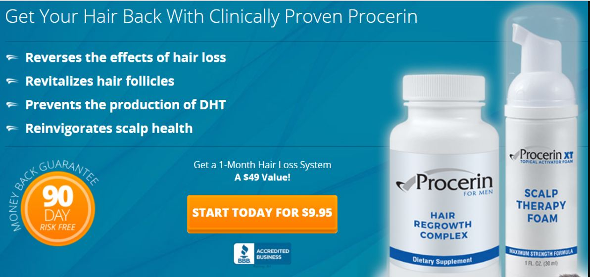 Procerin trial