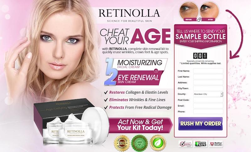 Retinolla trial