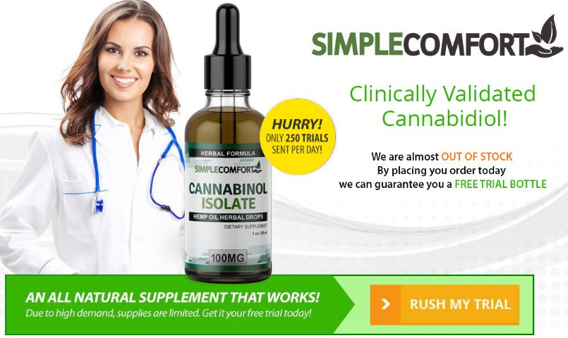 Simple Comfort CBD Oil reviews