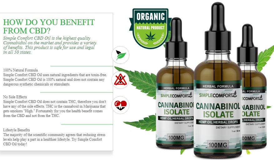 Simple Comfort CBD Oil