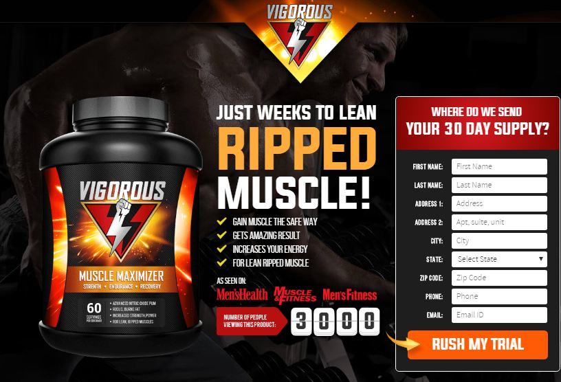 Vigorous Muscle Maximizer Trial