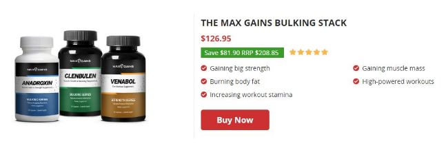 max gain builking stacks