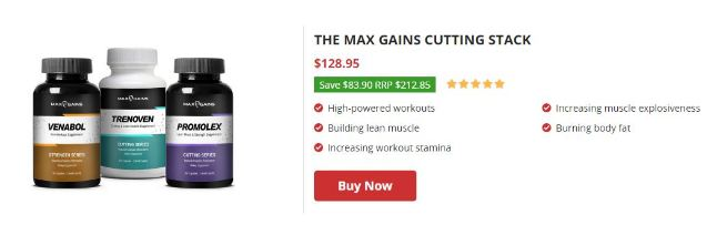 max gain cutting stacks