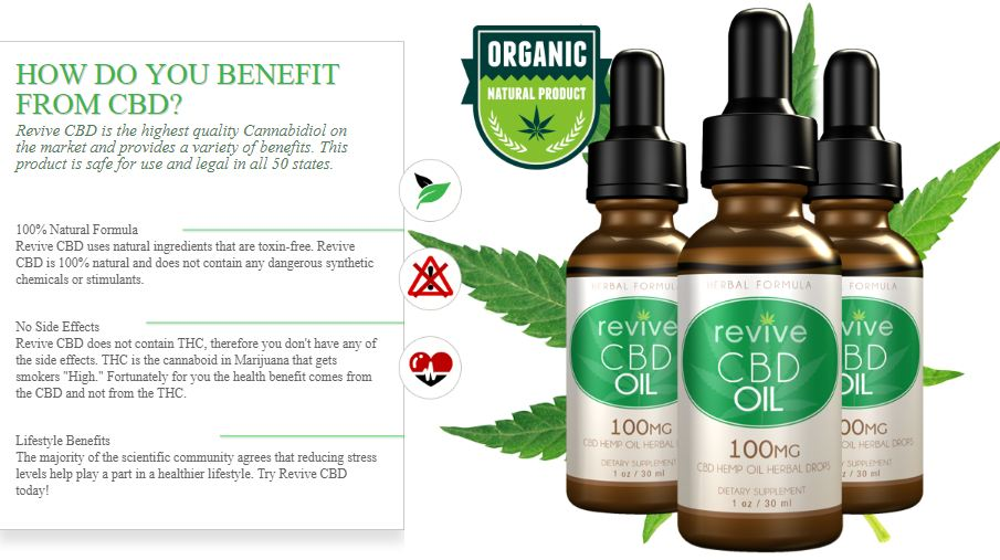 revive cbd oil trial