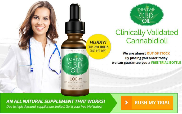 revive cbd oil trials