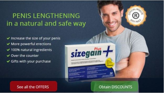 Size Gain Plus Pills Size Gain Plus Male Enhancement