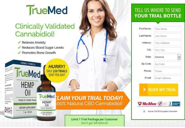 true med oil trial