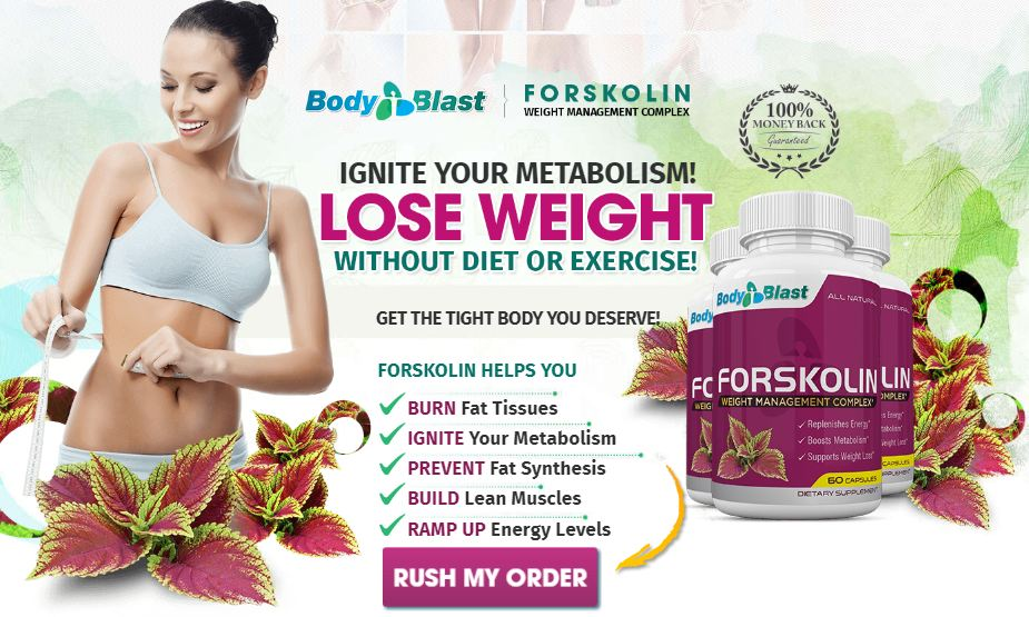 Forskolin Body Blast Trial