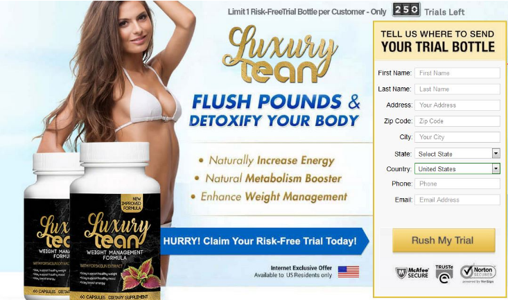 Luxury lean forskolin order