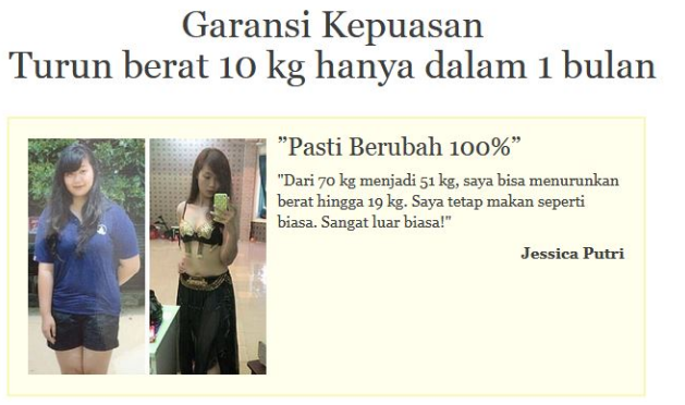 Garcinia 5000 Ulasan